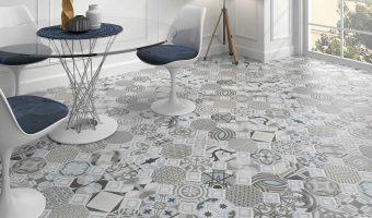 Gạch bông bạch mã lát nền, ốp tường trang trí đầy ấn tượng và thu hút