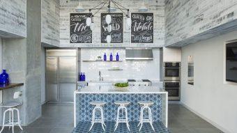 Sử dụng gạch bông để làm tăng thêm giá trị cho nhà bếp của bạn
