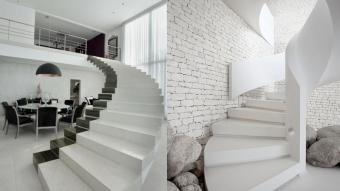 Những mẫu đá cầu thang đẹp hút hồn cho căn nhà