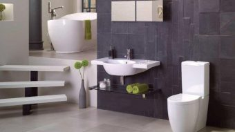 Đá Lai Châu trang trí phòng tắm phong cách thiết kế độc lạ nhất hiện nay