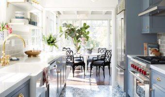 Đổi mới không gian phòng ăn của bạn bằng gạch bông