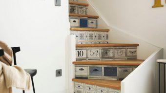 Gạch trang trí cầu thang mảnh ghép cho ngôi nhà đẹp hoàn hảo
