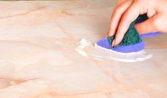 Baking soda an toàn trên đá Marble?