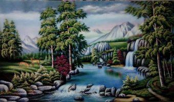 Phong thủy bằng tranh đá tự nhiên