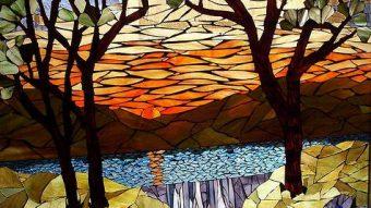 Sử dụng gạch mosaic tranh làm tăng thêm vẻ đẹp cho ngôi nhà của bạn
