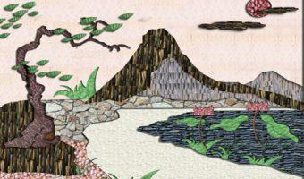 Tranh đá tự nhiên – Thổi hồn cho không gian sống của bạn