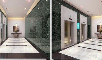 Đá marble ốp hành lang tự nhiên cao cấp