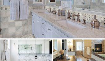 Những điều bạn cần biết về đá cẩm thạch trong phòng tắm