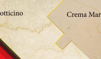 Phân biệt đá Crema Marfil với Botticino