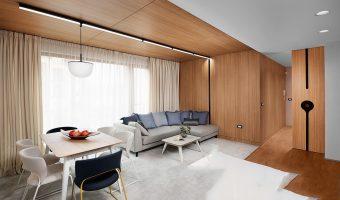 Tấm ốp tường giả gỗ chuyên dùng trong trang trí nội thất