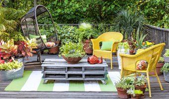 3 ý tưởng thiết kế vườn hoa ban công đẹp hút mắt