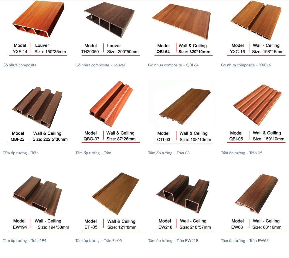 Tìm hiểu về loại sàn gỗ nhựa composite ngoài trời