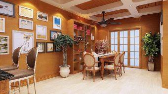 Nhựa giả gỗ ốp tường – giải pháp đa tiện ích khi thi công nhà ở