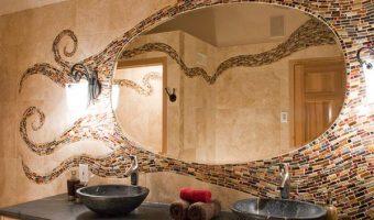 Những nơi được ứng dụng gạch Mosaic nhiều nhất trong ngôi nhà