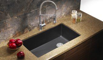 Xu hướng sử dụng bàn đá granite kết hợp bồn rửa chén dưới mặt bàn