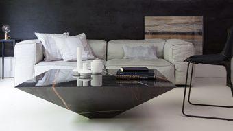 Bàn trà đá tự nhiên – Điểm sáng cho phòng khách nhà bạn