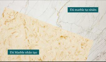 Đá marble tự nhiên và đá marble nhân tạo khác nhau như thế nào
