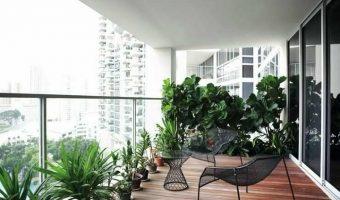 Đứng tim với 10 mẫu ban công đẹp dành cho căn hộ chung cư