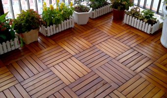 Sàn gỗ vỉ nhựa được lắp đặt như thế nào?