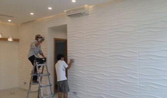 Tấm ốp tường PVC: lựa chọn siêu tiết kiệm trong trang trí nội thất