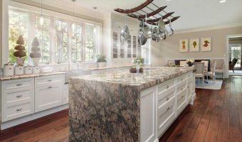 Tìm hiểu đá Marble ốp bếp vượt thời gian