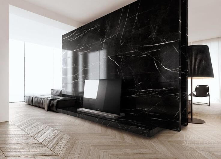 Đá marble đen Negro Marquina Marble