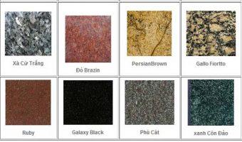 Một số mẫu đá Granite được ưa chuộng hiện nay