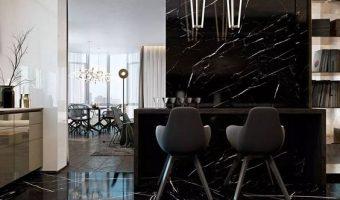 Vì sao nên lựa chọn đá marble đen tia chớp cho công trình của bạn?