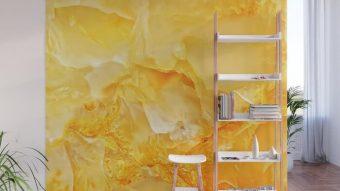 Liệu đá marble vàng ốp tường có hợp không?