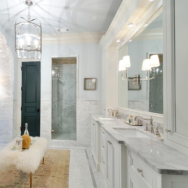 Những mẫu đá marble trắng ốp bếp hoàn hảo 4