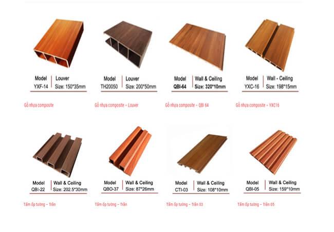 Bảng báo giá gỗ nhựa composite mới nhất năm 2019 2