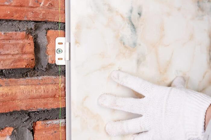 Hướng dẫn thi công ốp tường nhựa tại nhà-4