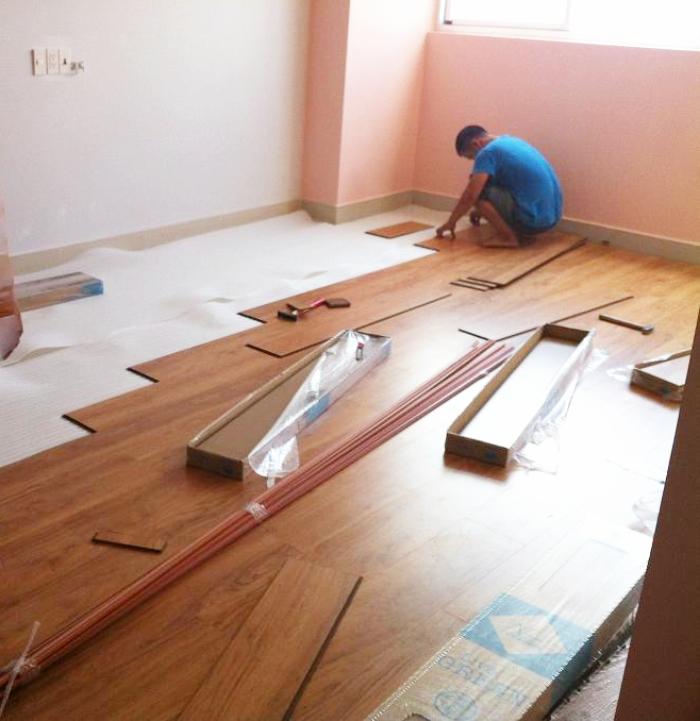 Tấm nhựa vân gỗ - giải pháp ưu việt cho mọi công trình