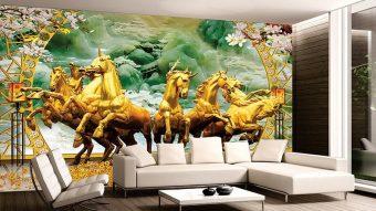 Báo giá gạch tranh 3d trang trí phòng khách