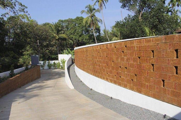 Gạch đá ong mang nét đẹp truyền thống vào công trình hiện đại