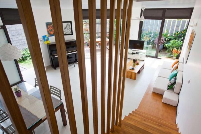 Lam nhựa giả gỗ và những công trình thực tế