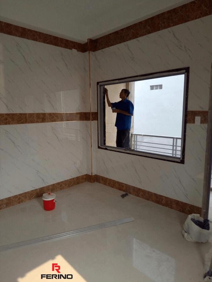 Tấm nhựa PVC vân đá - Vật liệu nhựa ốp tường cao cấp-6