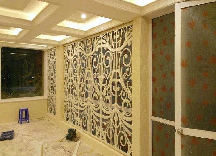 Tấm ốp tường PVC vật liệu ốp tường hiện đại