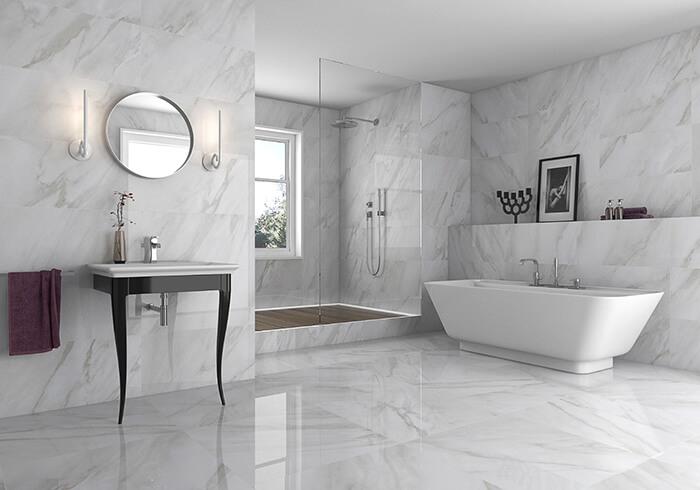 Gạch Marble ốp tường 600x1200mm nhập khẩu cao cấp