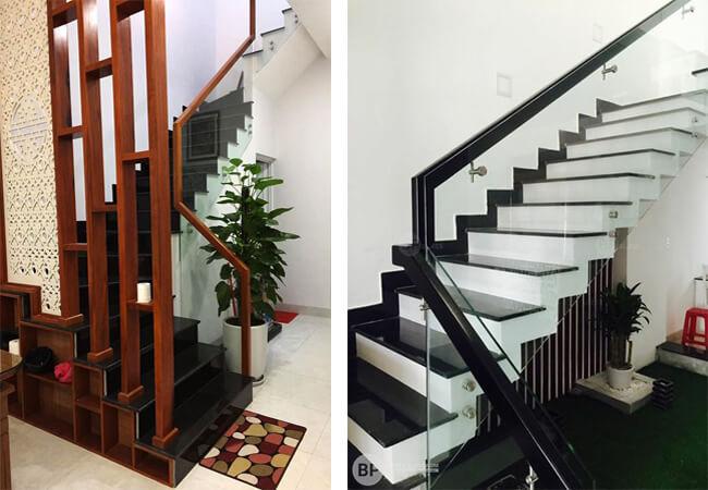 Đá granite đen - vật liệu số 1 trong thiết kế cầu thang 2
