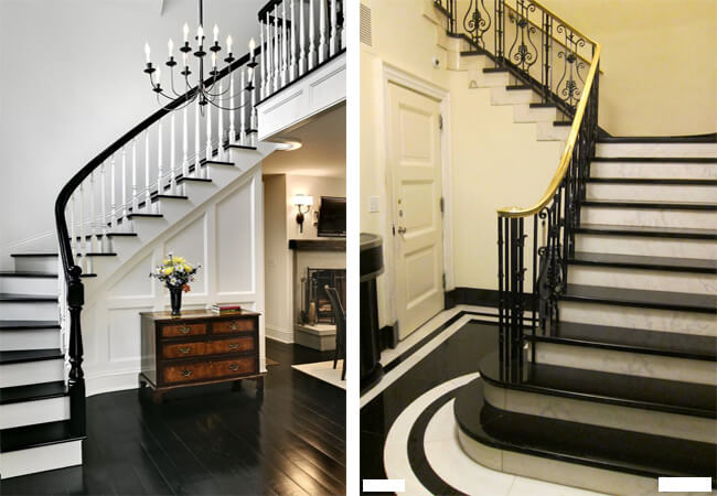 Đá granite đen - vật liệu số 1 trong thiết kế cầu thang 1