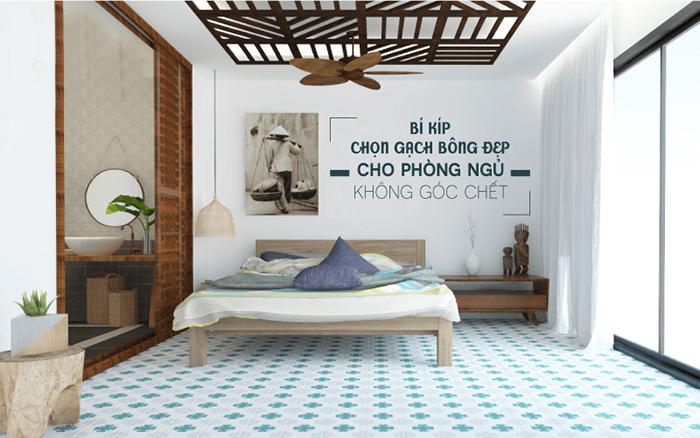 Cách lựa chọn kích thước gạch bông men lát nền cho nhà ở