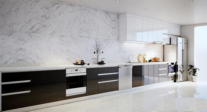Các loại gạch ốp tường bếp phổ biến hiện nay