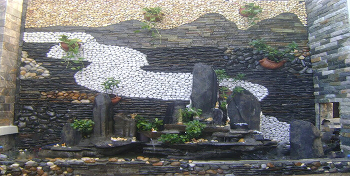 Tranh gạch đá trang trí ĐẸP- ĐỘC- LẠ cho tường phòng khách-01