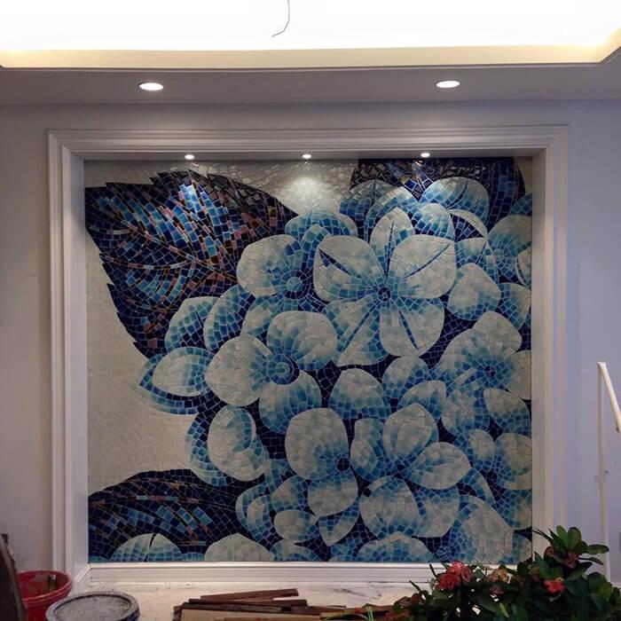 Tranh gạch đá trang trí ĐẸP- ĐỘC- LẠ cho tường phòng khách-02