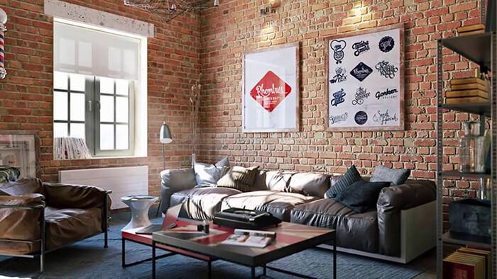 ng gạch trang trí ốp tường phòng khách hot nhất 2019-07