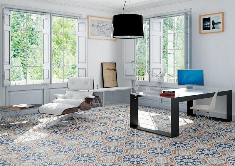 20 mẫu gạch bông trang trí biến tấu không gian nội thất-10