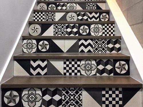 20 mẫu gạch bông trang trí biến tấu không gian nội thất-11