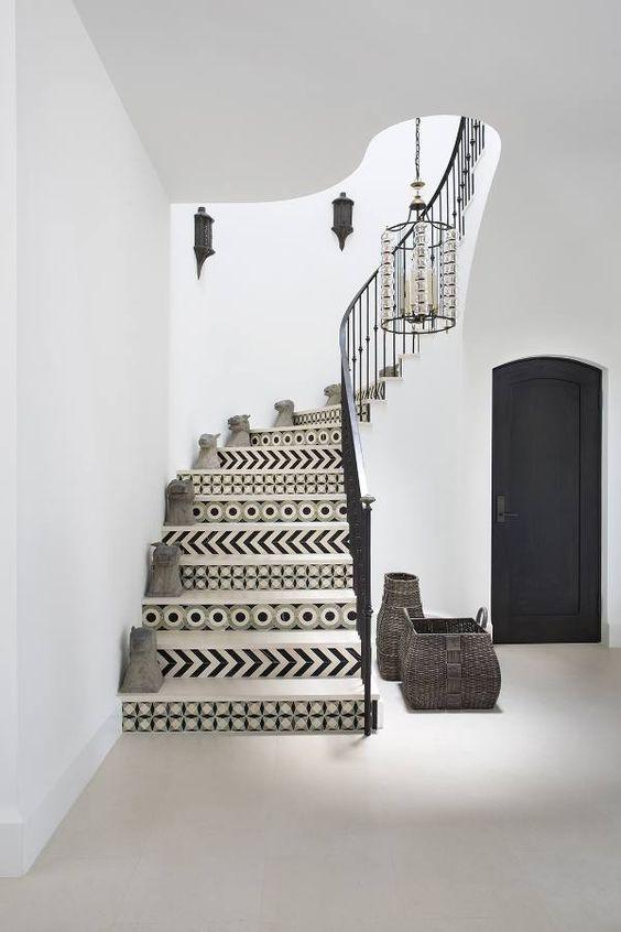 20 mẫu gạch bông trang trí biến tấu không gian nội thất-15