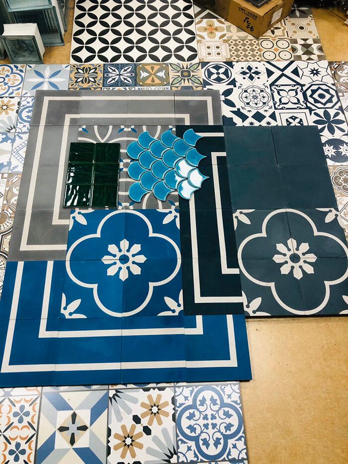 20 mẫu gạch bông trang trí biến tấu không gian nội thất-22